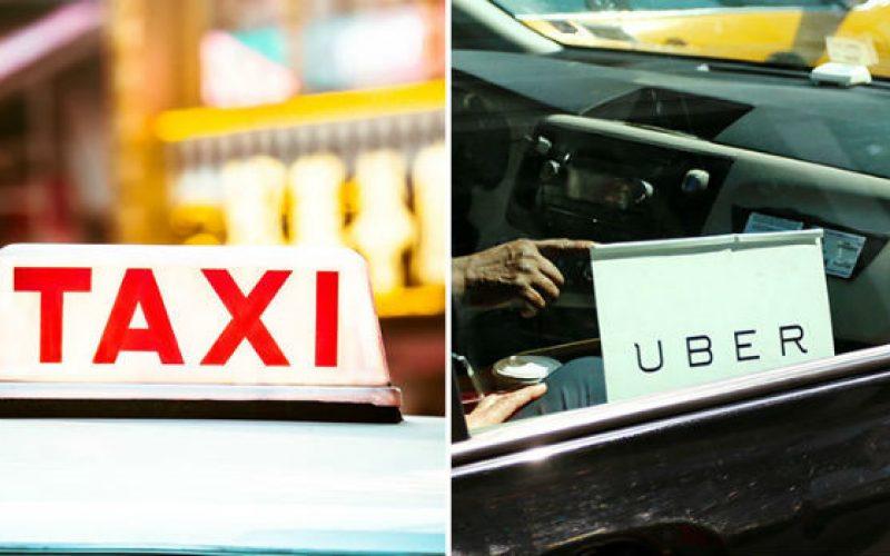 """Liên tục """"kèn cựa"""" thuế, phí nhưng nhiều hãng taxi truyền thống đóng thuế thấp hơn Uber, Grab"""
