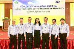 Doanh thu 1.750 tỷ đồng, Nông dược HAI vượt kế hoạch năm 2017