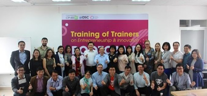 Đà Nẵng:  Đào tạo giảng viên nguồn về đổi mới sáng tạo và khởi nghiệp