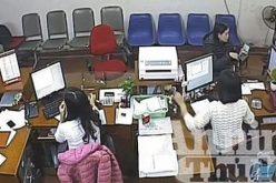 Diễn biến vụ cướp ngân hàng ở Bắc Giang qua hình ảnh camera an ninh