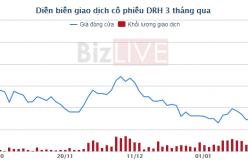 DRH báo lãi ròng tăng nhẹ và đạt 71 tỷ đồng năm 2017