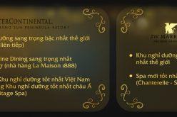Hai resort Việt được vinh danh tại 'giải Oscar' của du lịch thế giới