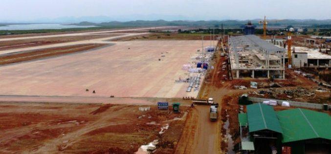 [Ảnh] Công trường sân bay hơn 7.000 tỷ đồng ở Quảng Ninh