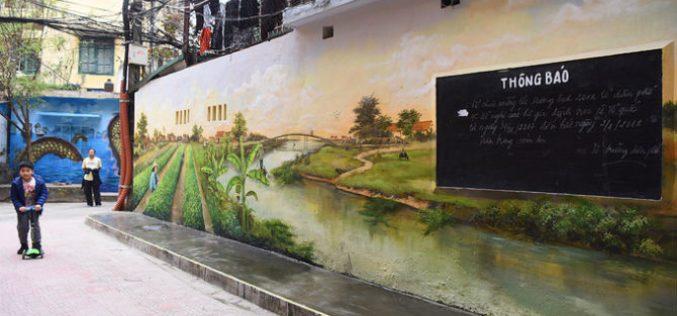 Khu tập thể cũ Hà Nội biến thành không gian nghệ thuật