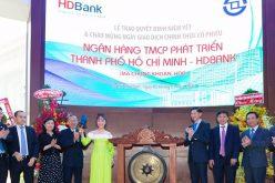 Cổ phiếu HDBank tăng hơn 18% trong phiên chào sàn