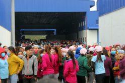 Thưởng Tết thấp, hơn 6.000 công nhân đình công