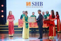 CEO SHB Nguyễn Văn Lê được vinh danh vì thành tích trong hoạt động kinh doanh
