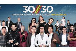 Những gương mặt trong danh sách 30 under 30 của Forbes Việt Nam
