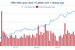 Giá dầu tăng, PV GAS báo lãi hơn 9.800 tỷ năm 2017, gần gấp đôi kế hoạch