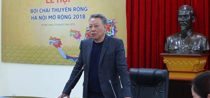 Lễ hội thuyền rồng Hà Nội thu hút hơn 400 vận động viên tranh tài