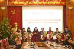 Bảo hiểm xã hội Việt Nam điều động, bổ nhiệm nhiều cán bộ chủ chốt