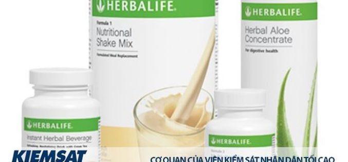 Công ty đa cấp Herbalife bị phạt 140 triệu đồng