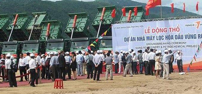 """""""Khai tử"""" dự án lọc hóa dầu Vũng Rô 3,2 tỷ USD"""