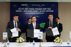 Napas ký thỏa thuận hợp tác với Keb Hana Card và Alliex