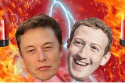 """""""Khẩu chiến"""" giữa Elon Musk và Mark Zuckerberg"""