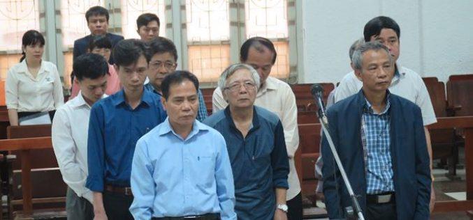 Vụ vỡ đường ống nước: Luật sư đề nghị miễn trách nhiệm hình sự cho các bị cáo
