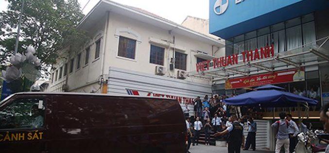 Bộ Công an khám xét Ngân hàng Eximbank tại TP.HCM