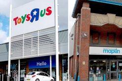 Hai hãng bán lẻ hàng đầu tại Anh đứng bên bờ vực sụp đổ