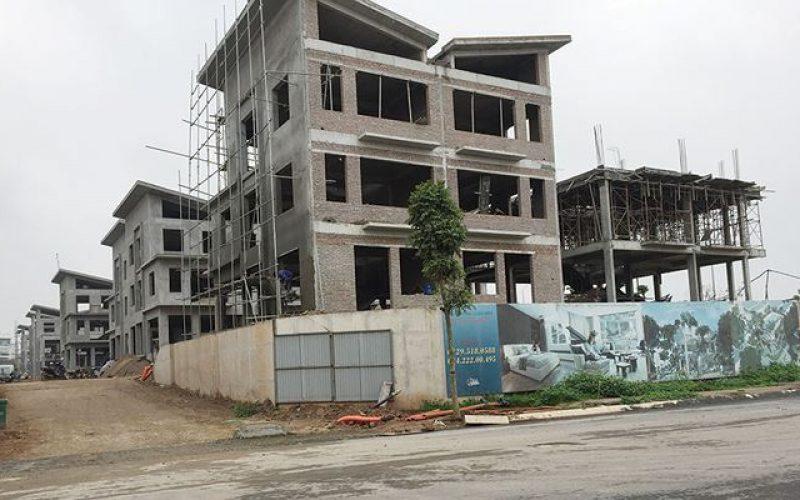 26 căn biệt thự Khai Sơn Hill không phép: Chủ đầu tư nhờn luật?