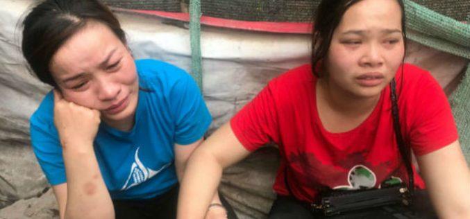 Hàng chục tiểu thương trắng tay sau vụ cháy chợ ở Hà Nội