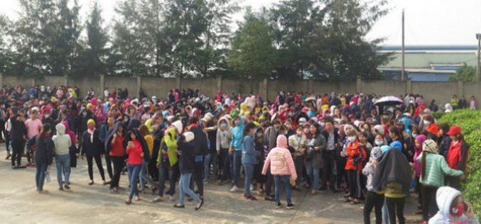 Gần 4.000 công nhân may Nam Định đi làm trở lại sau 8 ngày đình công