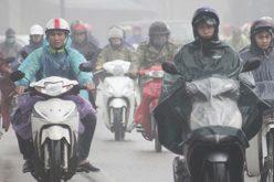 Bắc Bộ mưa lạnh, Nam Bộ nóng 36 độ C