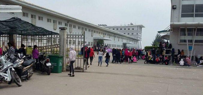 Vụ ngừng việc tập thể tại Nam Định: Công ty không tính 5 ngày lương cho 4.000 công nhân