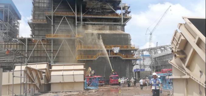 Hỏa hoạn tại Nhiệt điện Duyên Hải 3: Đã được khống chế