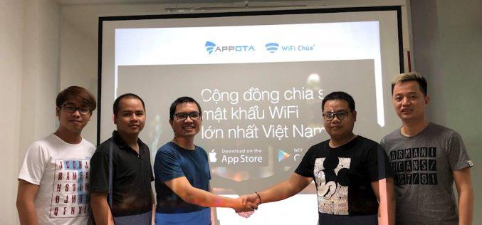 Bỏ ra triệu USD, Appota công bố hoàn tất việc mua lại ứng dụng WiFi Chùa
