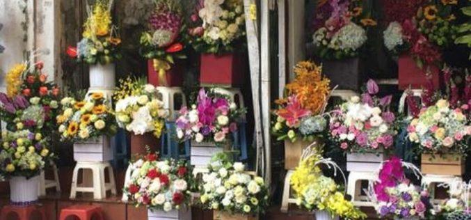 Thị trường hoa và quà tặng dịp 8/3: Hoa tươi tăng giá từng ngày