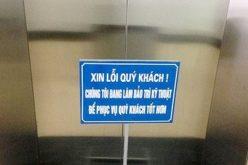 Thang máy chung cư tái định cư Hà Nội: Vỏ một loại, ruột một loại