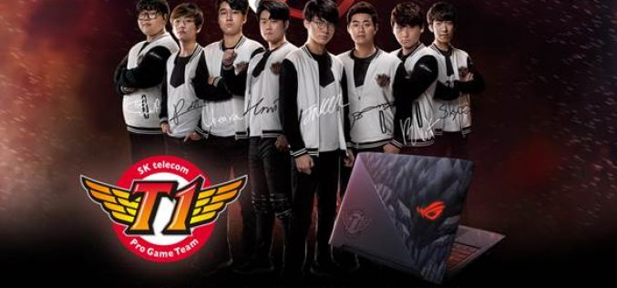 ASUS giới thiệu laptop gaming ROG Strix SKT T1 Hero Edition