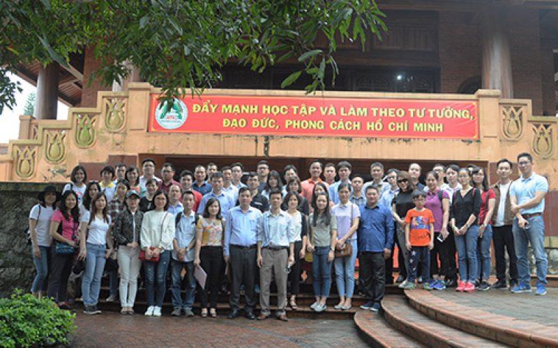 Đảng viên mới của Bộ Tài chính thăm An toàn khu Định Hóa – Thái Nguyên