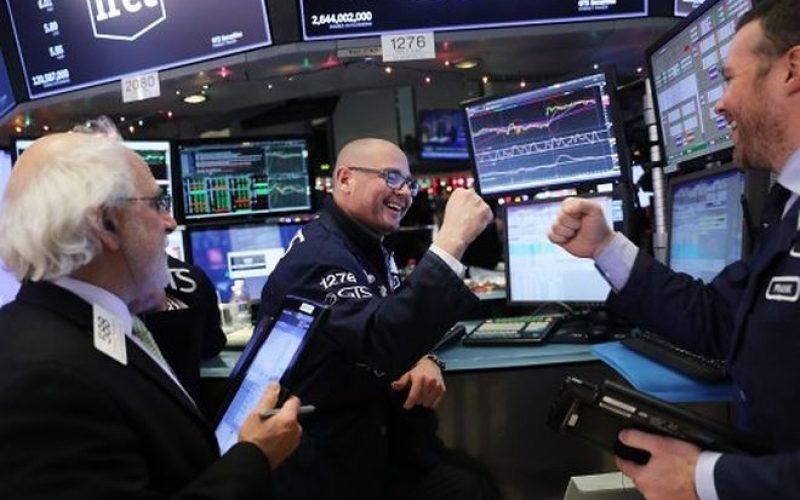 Nỗi lo giảm bớt, nhà đầu tư hưng phấn với kết quả kinh doanh