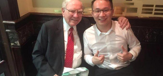 Doanh nhân Trung Quốc thách thức quan điểm về tiền ảo của Warren Buffett
