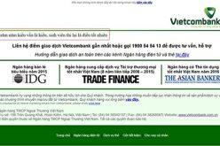 Website xuất hiện thơ chế, Vietcombank nói 'do cán bộ kỹ thuật'