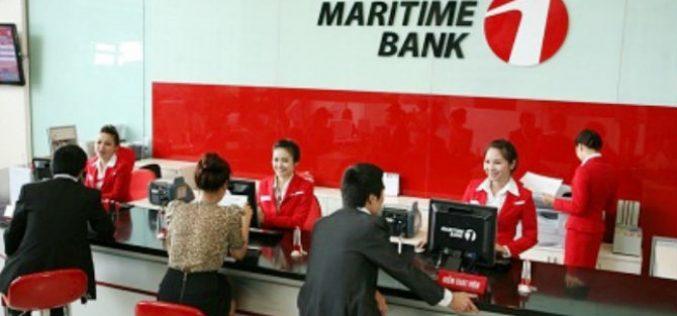 Năm 2018: MaritimeBank dự kiến lợi nhuận trước thuế 194 tỷ đồng