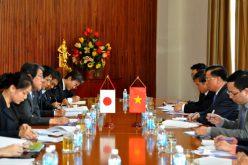 Bộ trưởng Đinh Tiến Dũng tiếp Đại sứ Nhật Bản tại Việt Nam