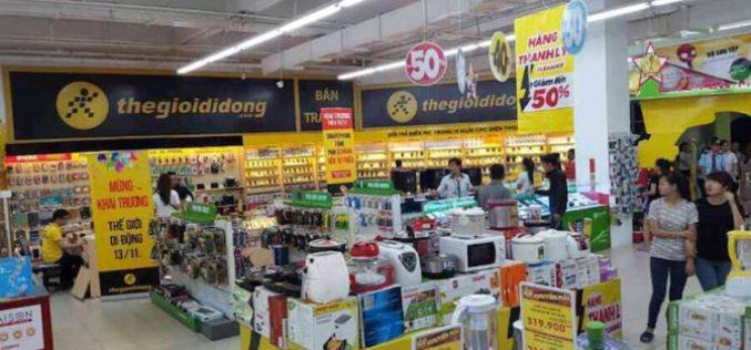 """Liên tiếp đóng cửa hàng bán điện thoại: Bước """"lùi"""" của Thế giới Di động?"""