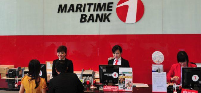 Maritime Bank: Lợi nhuận quý I/2018 tăng hơn 9 lần so với cùng kỳ 2017