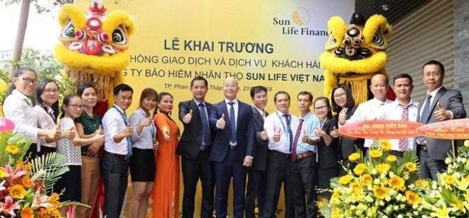 Sun Life Việt Nam mở thêm 2 văn phòng tại Ninh Thuận và Lâm Đồng