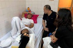 Bảo hiểm PTI tạm ứng bồi thường cho cầu thủ Dương Văn Hào