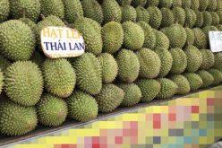 Thái Lan trúng mùa trái cây, Việt Nam ngập chợ