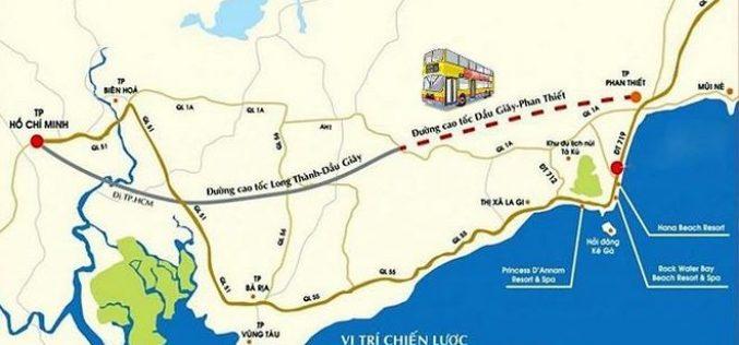 Đề xuất đầu tư 18.139 tỷ đồng xây 99 km cao tốc Phan Thiết – Dầu Giây