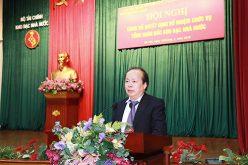 Bộ Tài chính bổ nhiệm Tổng Giám đốc Kho bạc Nhà nước
