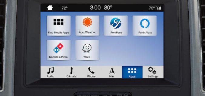 Ford tích hợp ứng dụng dẫn đường và thông tin giao thông Waze vào Sync 3