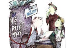 Thu tiền tỷ từ việc bán hồ sơ thi đầu cấp: Kinh doanh trên nỗi lo của phụ huynh?