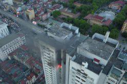 Chung cư Fodacon vừa xảy ra cháy ở Hà Nội từng bị xử phạt về phòng cháy chữa cháy