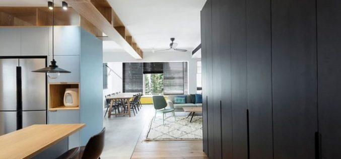 Ngôi nhà rộng rãi hơn nhờ sử dụng tủ lưu trữ