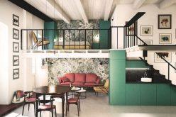 Ngôi nhà trang trí màu sắc tuyệt đẹp theo phong cách Ý